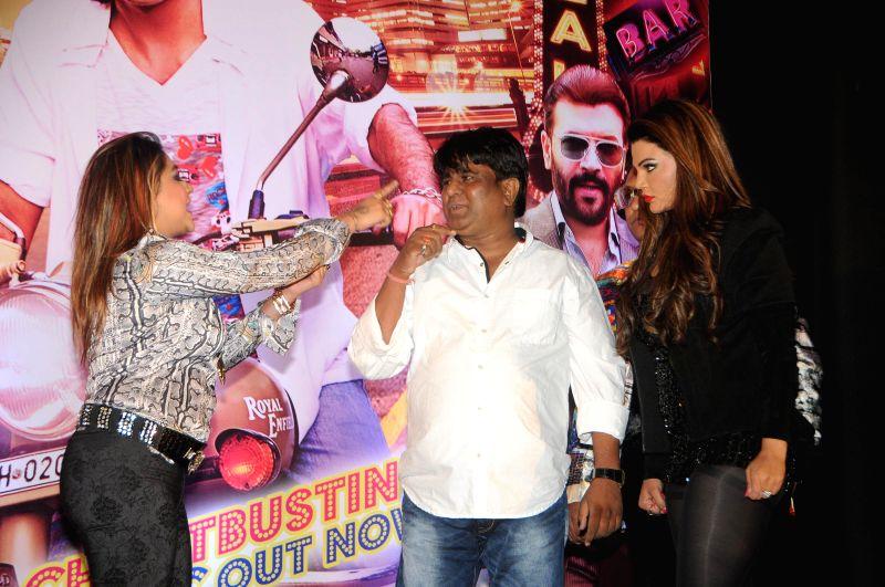 Actress Rakhi Sawant's friend Manisha Kumari assaults filmmaker Sachindra Sharma during a programme organised to launch the music of 'Mumbai Can Dance Saala' accusing him of demanding ... - Sachindra Sharma