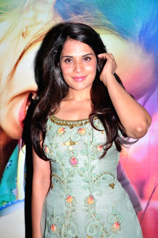 Actress Richa Chadda during the special screening of film Margarita With A Straw in Mumbai on 13th April 2015. - Richa Chadda