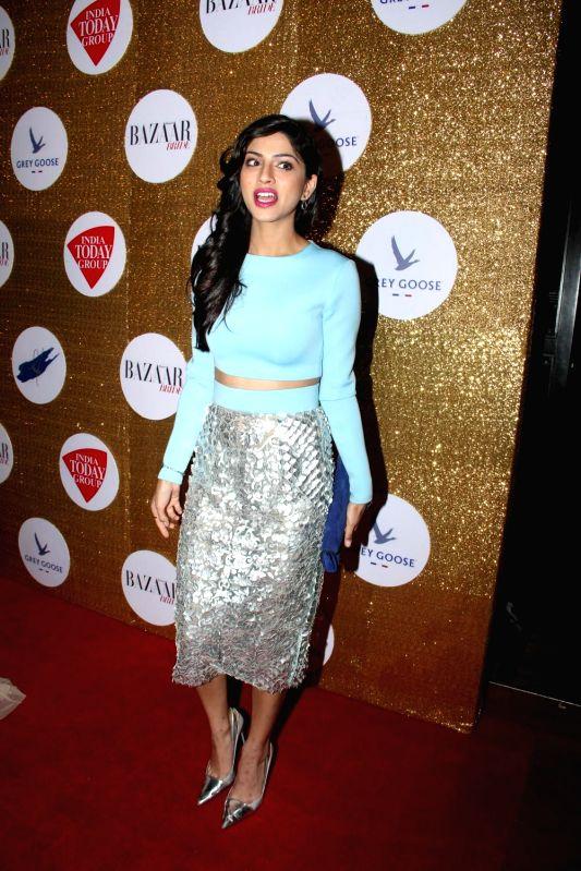 Actress Sapna Pabbi during the Red Carpet For Harper's Bazaar Bride 1st Anniversary Party in Mumbai on February 2015. - Sapna Pabbi