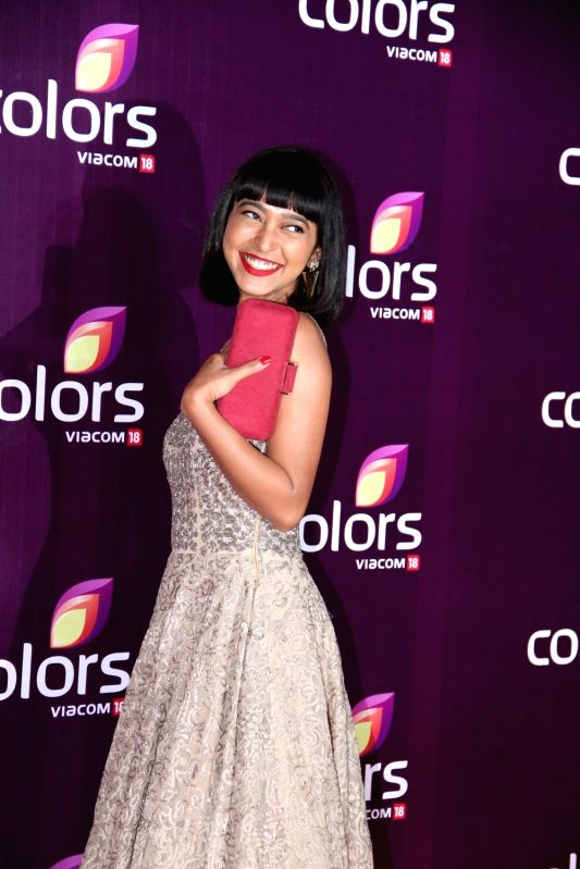 Actress Sayani Gupta during the Colors Leadership Awards 2015, in Mumbai, on April 18, 2015. - Sayani Gupta