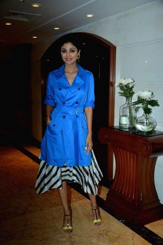 :Mumbai: Actress Shilpa Shetty Kundra during a promotional programme in Mumbai on July 24, 2018.(Photo: IANS).