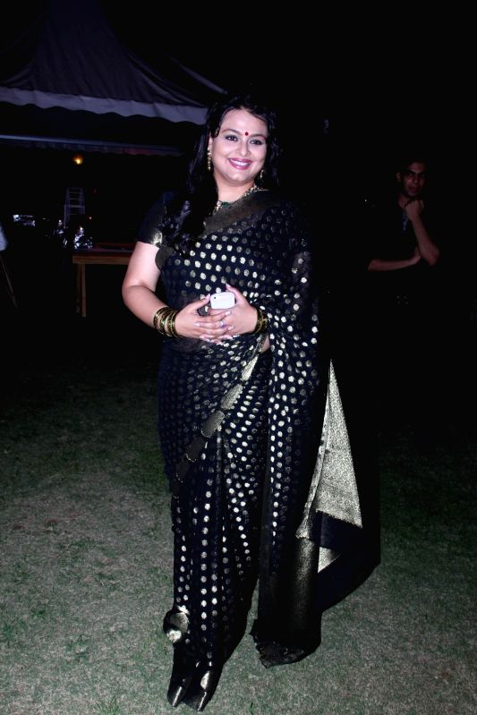 :Mumbai: Actress Shilpa Shirodkar during the launch of Marks and Spencer's Spring/Summer 2015 Collection in Mumbai on April 17, 2015. (Photo: IANS).
