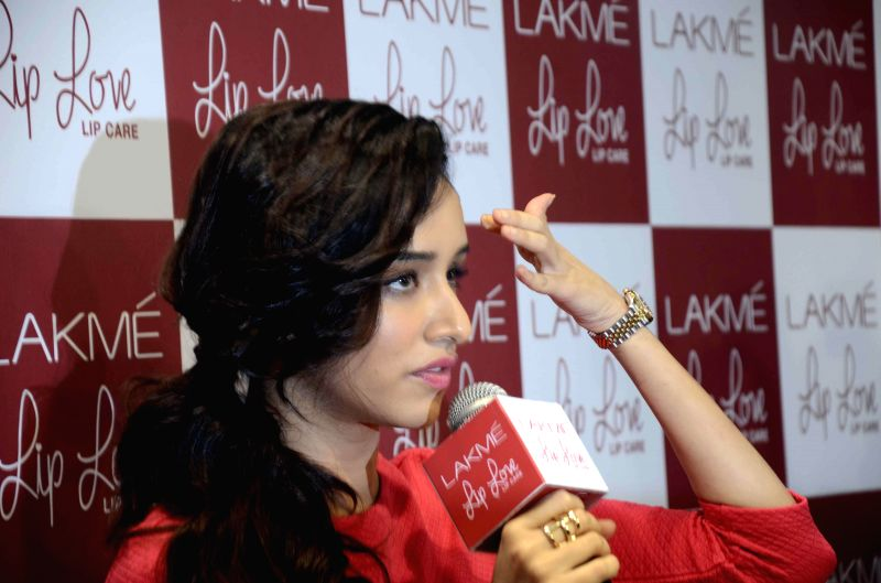 Actress Shraddha Kapoor during a promotional programme in Mumbai, on Dec 11, 2014.