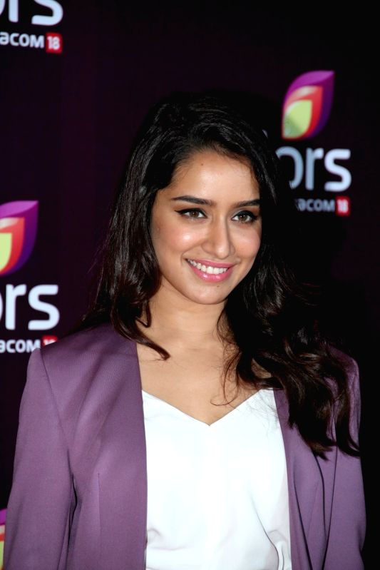 Actress Shraddha Kapoor during the Colors Leadership Awards 2015, in Mumbai, on April 18, 2015. - Shraddha Kapoor
