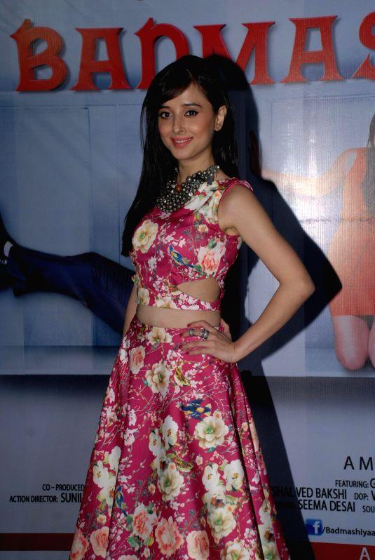 Actress Suzanna Mukherjee during the press conference of film Badmashiyan in Mumbai on 28th January 2015. - Suzanna Mukherjee