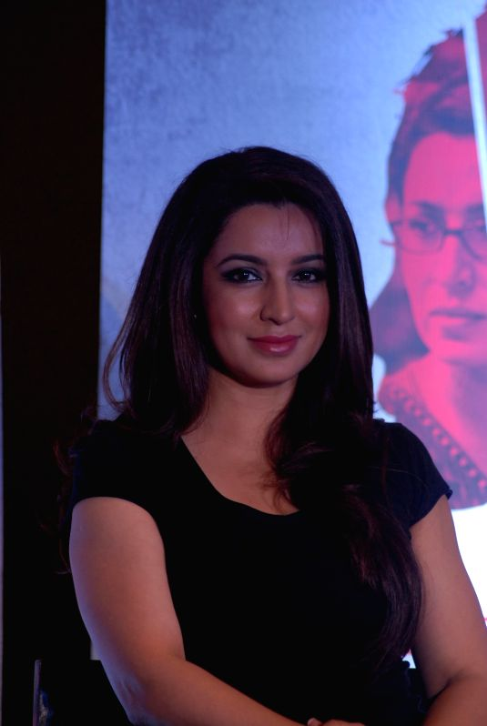 Actress Tisca Chopra at film Rahashya press meet in Mumbai on 28th January 2015. - Tisca Chopra
