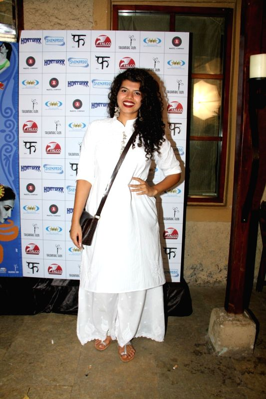 Actress Veera Saxena during the success party of film Hunterrr in Mumbai on March 27, 2015. - Veera Saxena