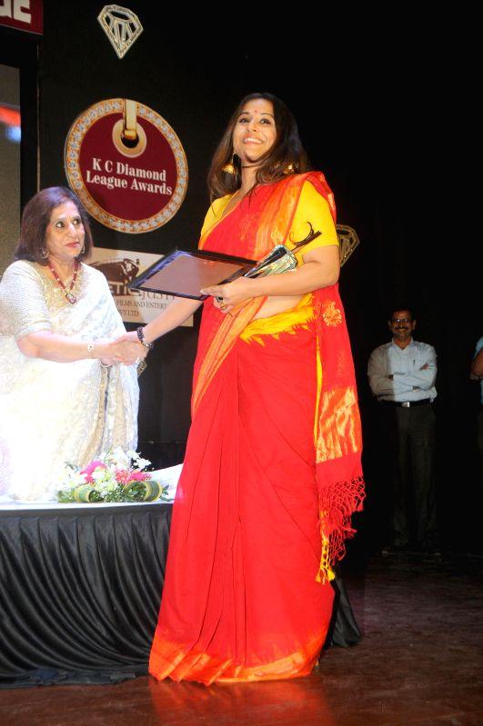 Actress Vidya Balan during the Diamond Jubilee year celebration of Kishinchand Chellaram College in Mumbai on 7th February 2015 - Vidya Balan
