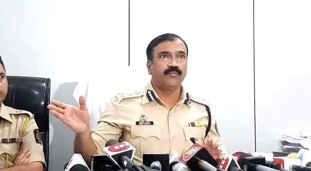 Mumbai: Additional Commissioner of Police Dilip Sawant and his team address Media on cracking the stunning Covid Vaccination fraud perpetrated on a posh housing society, Hiranandani Heritage Society, Kandivali West, in May, sending shockwaves among p