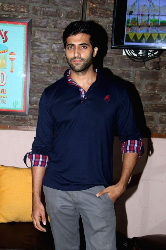 Akshay Oberoi during Bombariya Film Announcement launch party in Mumbai on April 21, 2015.
