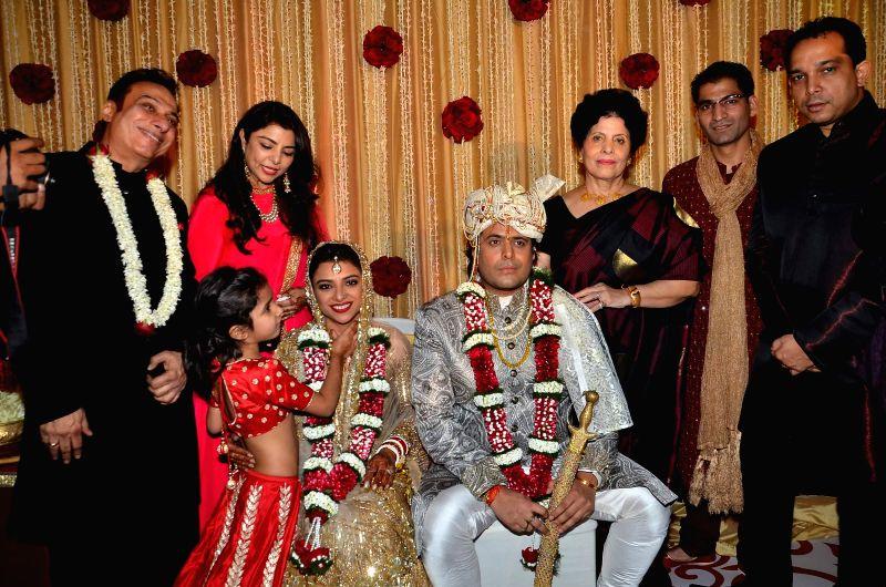 Ali Morani`s daughter Shirin Morani`s wedding ceremony in Mumbai, on Dec 20, 2014.