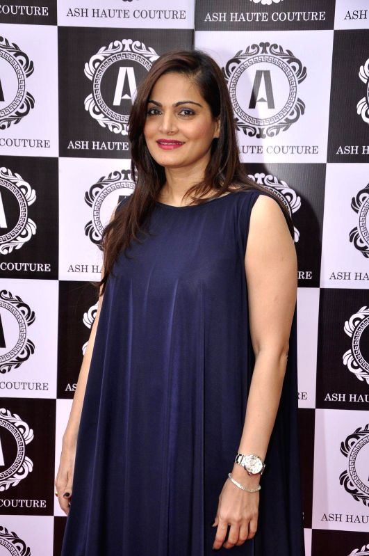 Alvira Khan during Asha Karla`s Summer 2015 Couture Collection hosted by Arpita Khan on Feb 5, 2015. - Alvira Khan