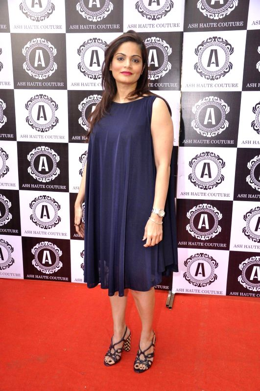 Alvira Khan during Asha Karla`s Summer 2015 Couture Collection hosted by Arpita Khan, on Feb 5, 2015. - Alvira Khan