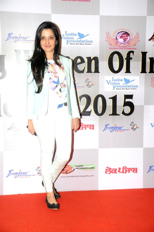 Amy Billimoria during Women Power Calendar Launch 2015 in Mumbai on Jan 17, 2015.