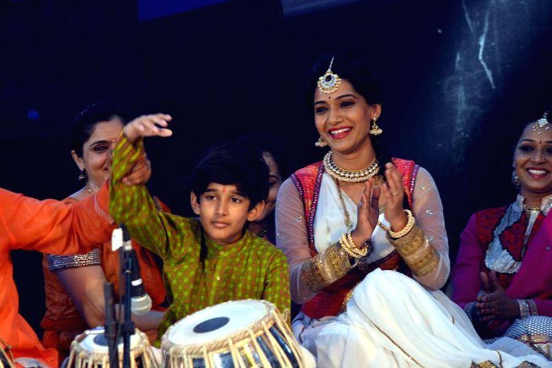 Arin Nene during the inauguration of Kala Ghoda festival in Mumbai on Feb. 7, 2015.