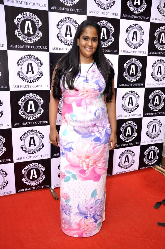 Arpita Khan during Asha Karla`s Summer 2015 Couture Collection hosted by her on Feb 5, 2015.