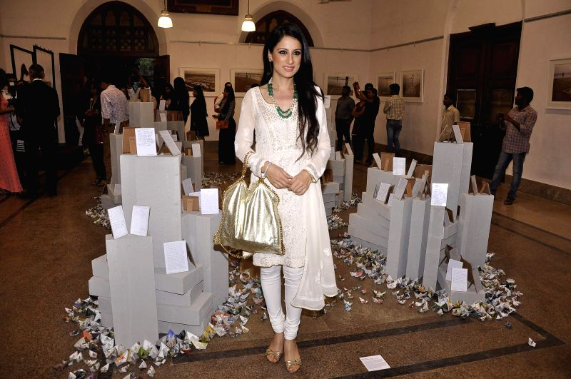Artist and mural designer Rouble Nagi during the announcement of the third edition of GoodHomes for Art in Mumbai, on Nov 27, 2014.