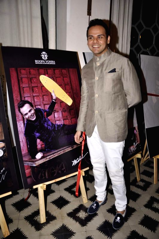 Ashiesh Shah at Game Changers 2015 calendar launch in Mumbai on Jan 18, 2015. - Ashiesh Shah