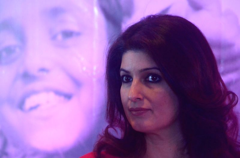 """Author and film producer Twinkle Khanna at an awareness programme on """"Save the Children"""" in Mumbai"""