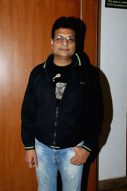 Author Irshad Kamil during the success of the World Music Symphony in Mumbai on Feb 27, 2015.