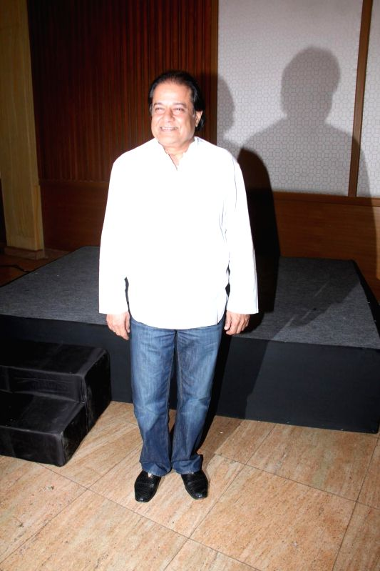 Bhajan singer Anup Jalota during the success of the World Music Symphony in Mumbai on Feb 27, 2015.