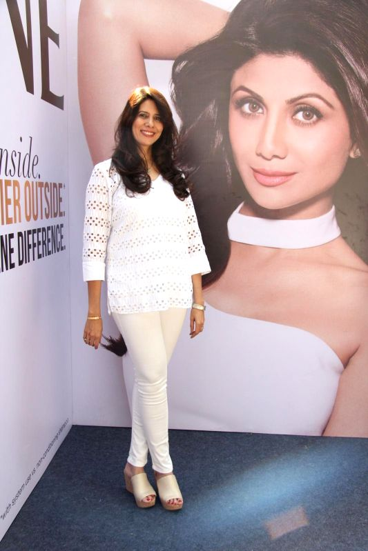 Celebrity hair expert Coleen Khan during She's Got the Look fashion show at Indian Institute of Technology Bombay (IITB) festival Mood Indigo in Mumbai, on December 29, 2014. - Coleen Khan
