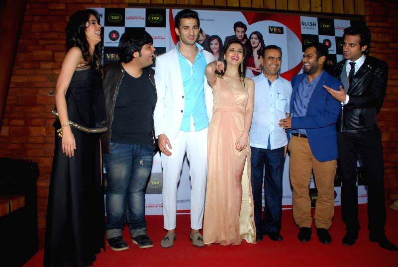 Celebs at music launch of film Badmashiyaan in Mumbai on Feb. 4, 2015.