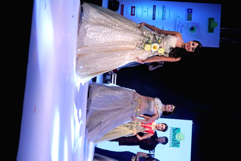 Celebs during Ramp for Champs fashion show organized by Smile Foundation in Mumbai on March 15, 2015.