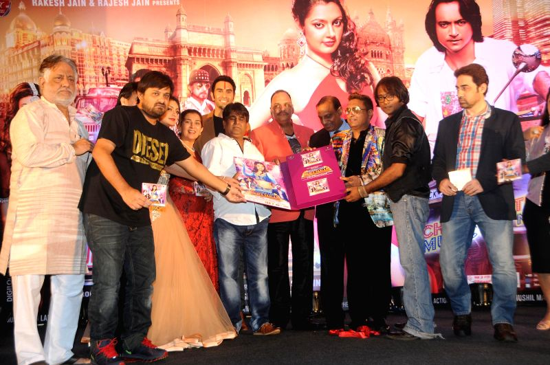 Celebs during the audio launch of film `Mumbai Can Dance Saalaa` in Mumbai on Thursday, Dec 11, 2014.