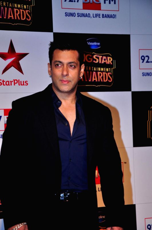 Celebs during the Big Star Entertainment Awards 2014 in Mumbai on Dec 18, 2014.