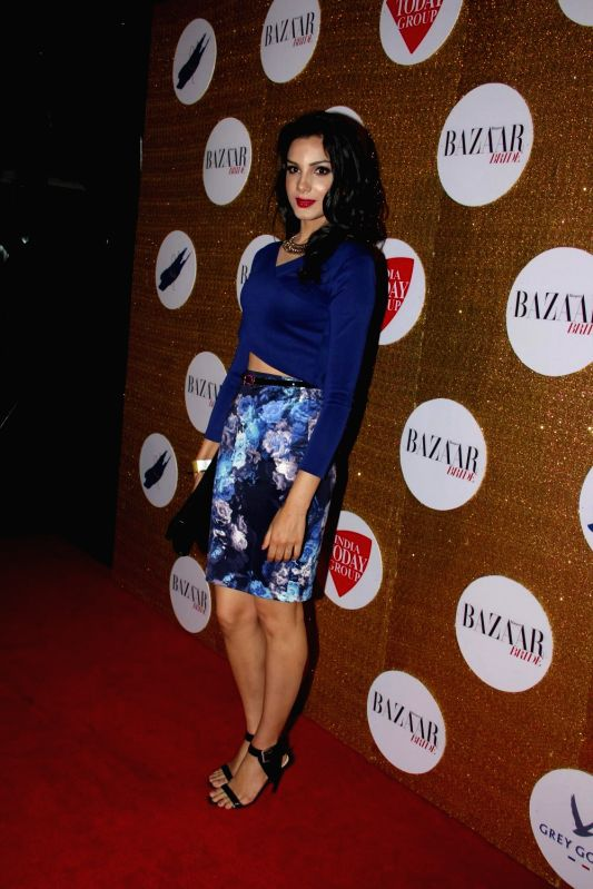 Celebs during the Red Carpet For Harper's Bazaar Bride 1st Anniversary Party in Mumbai on February 2015.