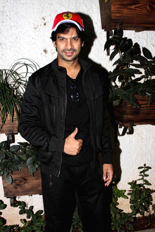 Celebs during the speicial screening of film Badmashiyan, in Mumbai on March 3, 2015.