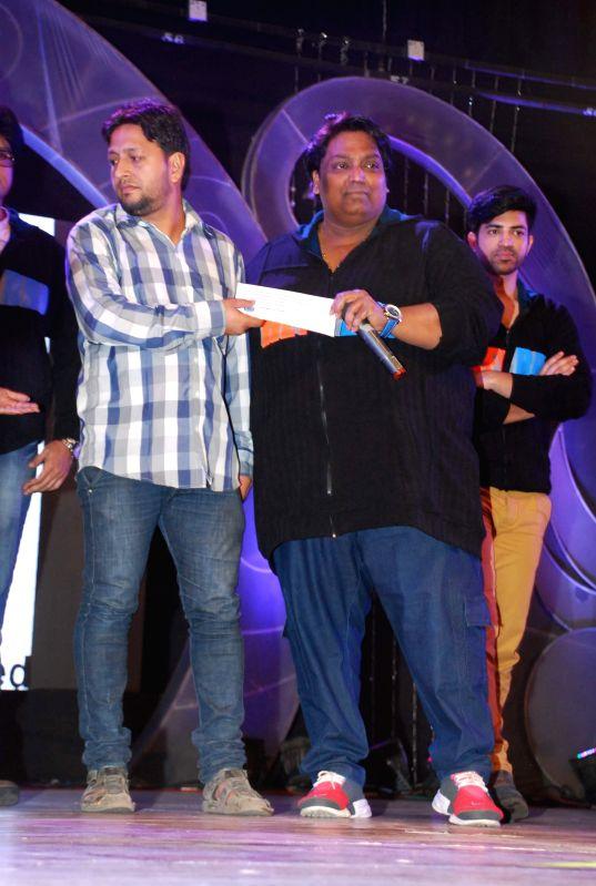 Choreographer and actor Ganesh Acharya at the trailer launch of film ''Hey Bro'' in Mumbai,  on Jan 15, 2015. - Ganesh Acharya
