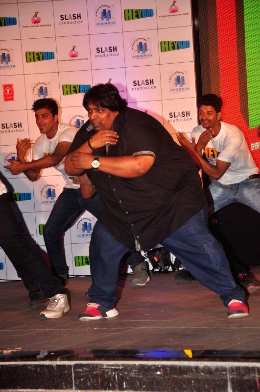 Choreographer Ganesh Acharya during the success bash of film Hey Bro music in Mumbai on Feb 22, 2015.