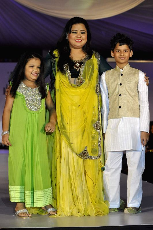 Comedian Bharti Singh during the the Global Peace Initiative, 2014 event in Mumbai on Nov 26, 2014. - Bharti Singh