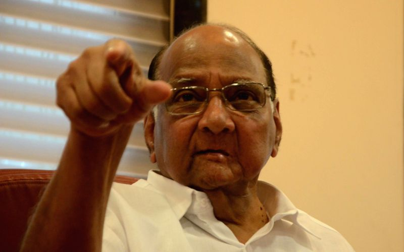 Mumbai Cricket Association (MCA) President Sharad Pawar addresses a press conference at MCA Headquarter in Mumbai on July 24, 2016. Sharad Pawar will step down as Mumbai Cricket Association ...