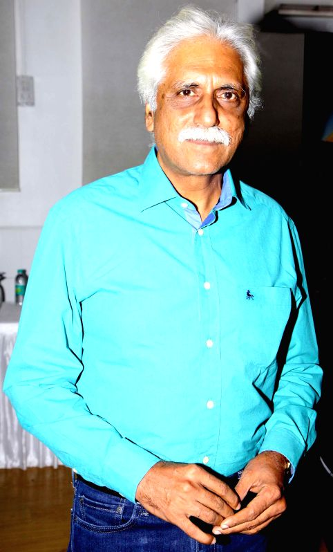 Cricket expert Ayaz Memon at launch pre-owned car showroom CarCity in Worli  in Mumbai on Dec 26, 2014.