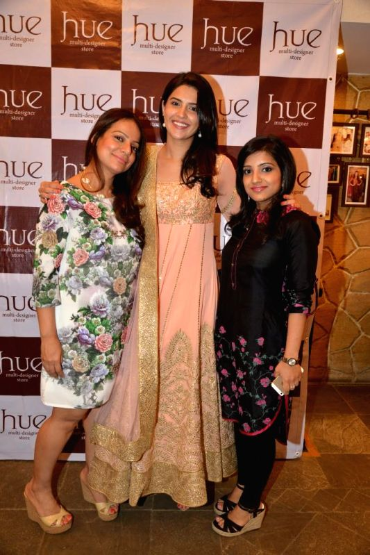 Designer Tamanna Punjabi Kapoor, Deeksha Seth and Mahima Bansal during the launch of Spring Summer Collection 2015 by designers Tamanna Punjabi Kapoor and Shruti Sanchet in Mumbai, on March ... - Tamanna Punjabi Kapoor and Deeksha Seth