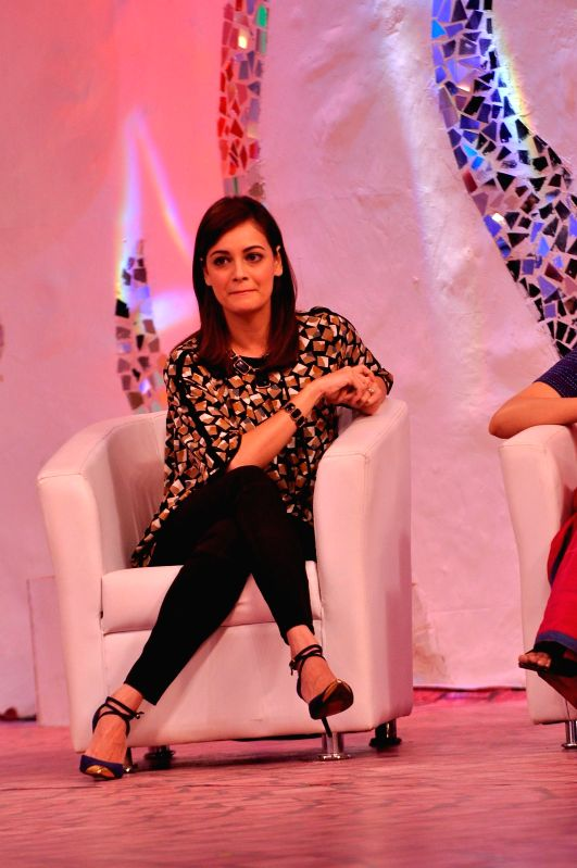 Dia Mirza at the Ndtv Mission Swachh Bharat Abhiyaan in Mumbai on Sunday, Dec 14, 2014. - Dia Mirza