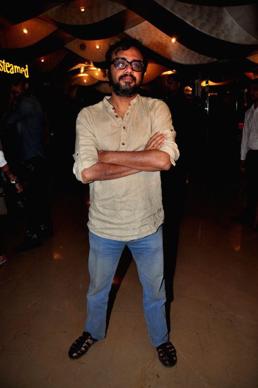 Director Dibakar Banerjee  during the screening of the film Detective Byomkesh Bakshy! at PVR Cinemas Juhu In Mumbai on April 05, 2015. - Dibakar Banerjee
