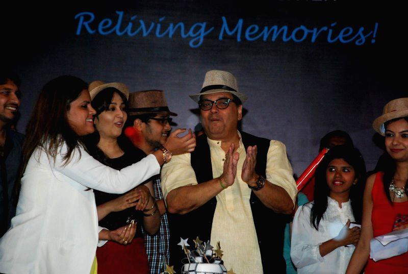 Director Subhash Ghai during his birthday bash in Mumbai on Jan 24, 2015.