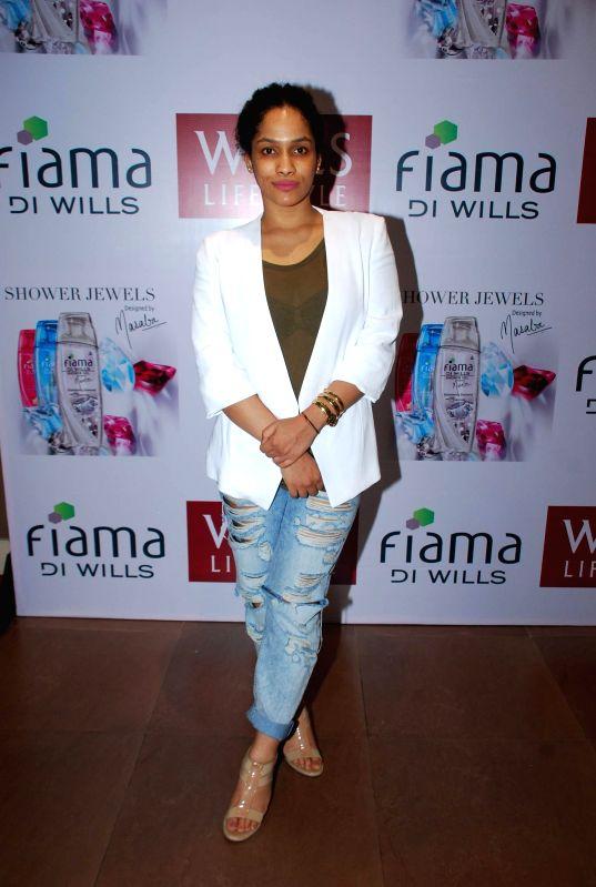 Fashion designer Masaba Gupta during the launch of fiama DI wills shower jewels in Mumbai, on December 4, 2014.