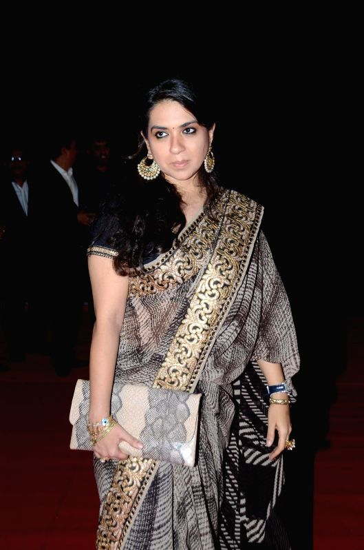 Fashion Designer Shaina NC during The Artisan Jewellery Design Awards 2014 in Mumbai on Feb 20, 2015.