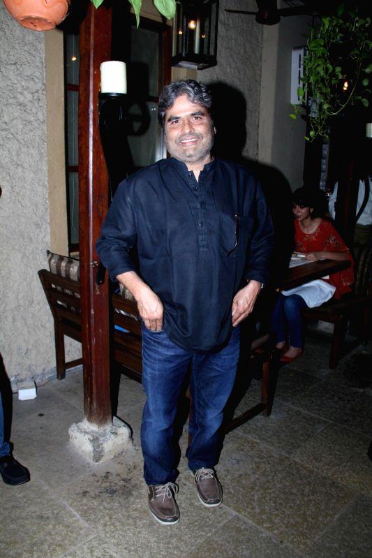 Film maker Vishal Bhardwaj during the success party of film Hunterrr in Mumbai on March 27, 2015. - Vishal Bhardwaj