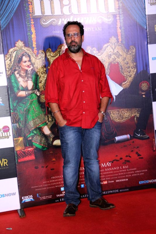 Filmmaker Aanand L. Rai during the trailer launch of film Tanu Weds Manu Returns in Mumbai on April 14, 2015. - Aanand L. Rai