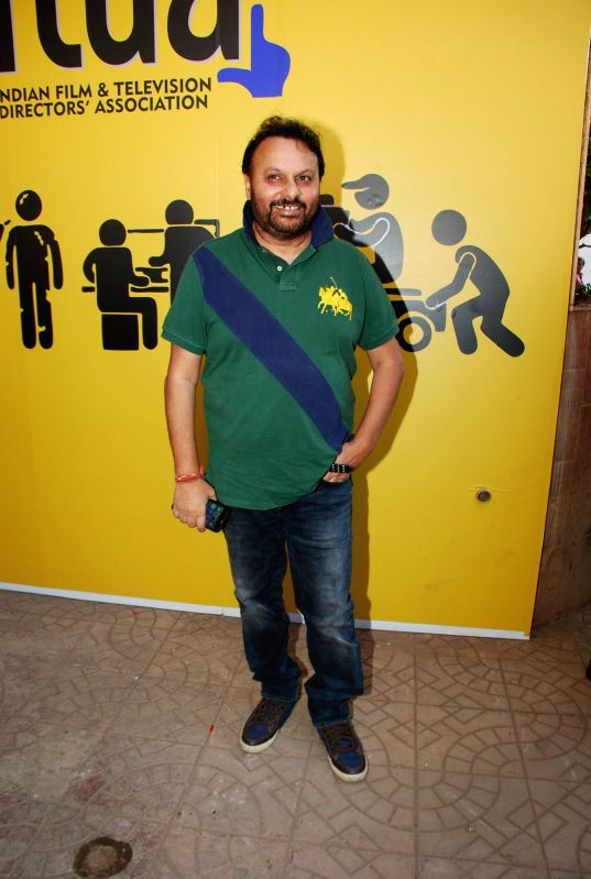Filmmaker Anil Sharma during the inauguration of Indian Film and Television Directors Association (IFTDA) office in Mumbai, on Feb. 8, 2015. - Anil Sharma