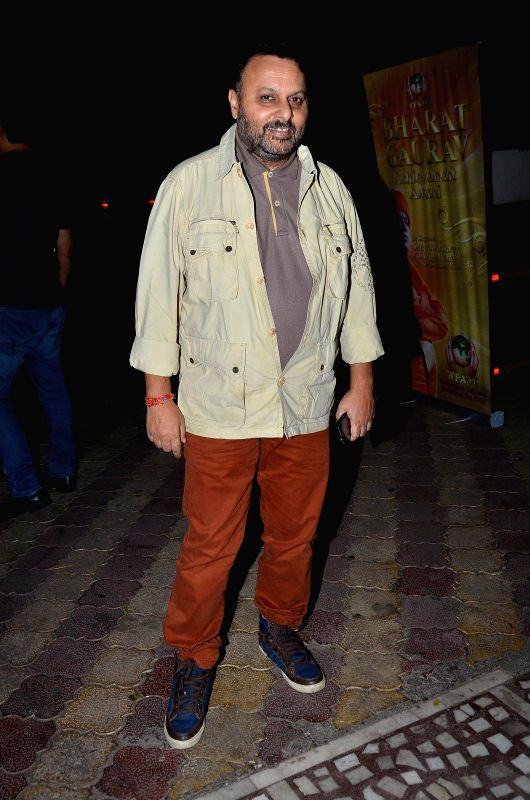 Filmmaker Anil Sharma during the Bharat Gaurav Achievement Award 2015 in Mumbai on Jan 24, 2015. - Anil Sharma