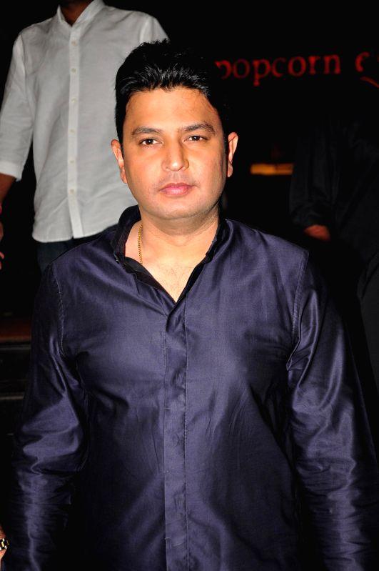 Filmmaker Bhushan Kumar during the trailer launch of film Baby in Mumbai, on Dec 3, 2014. - Bhushan Kumar