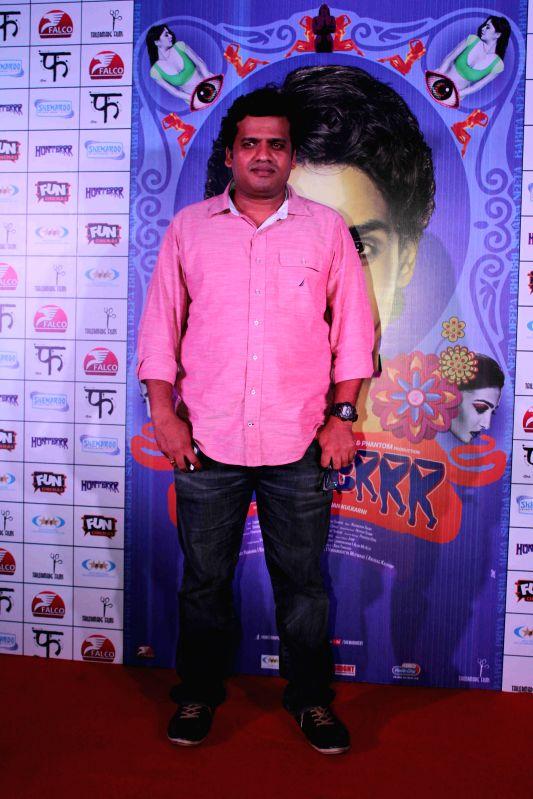 Filmmaker Harshavardhan Kulkarni during the press conference of film Hunterrr in Mumbai, on March 26, 2015 - Harshavardhan Kulkarni