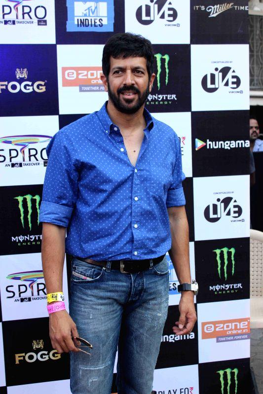 filmmaker Kabir Khan during the 'SPIRO - An MTV Indies Takeover' in Mumbai, on April 4, 2015. - Kabir Khan